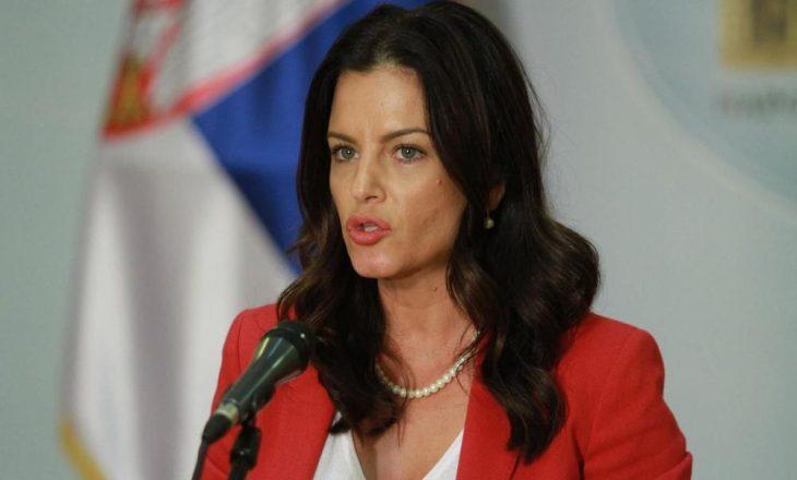 """Ministrja serbe refuzon propozimin për shpalljen """"Qytetar Nderi"""" të ministrit Gent Cakaj në Bujanoc"""