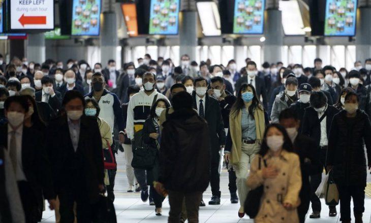 Rekord i ri i rasteve me COVID-19 në Japoni