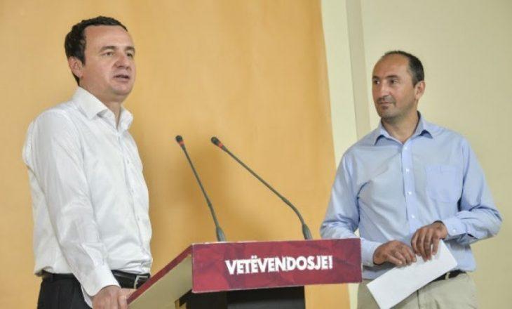 VV: Liburn Aliu do ta ushtrojë detyrën e shefit të grupit parlamentar