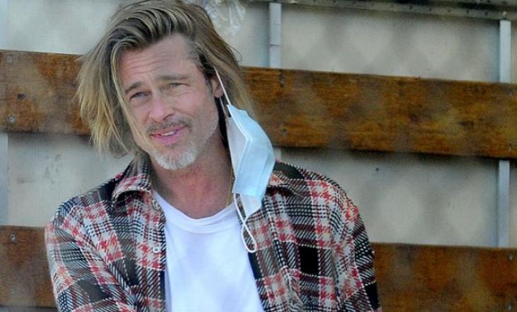 Brad Pitt shprëndan ushqime për familjet në nevojë