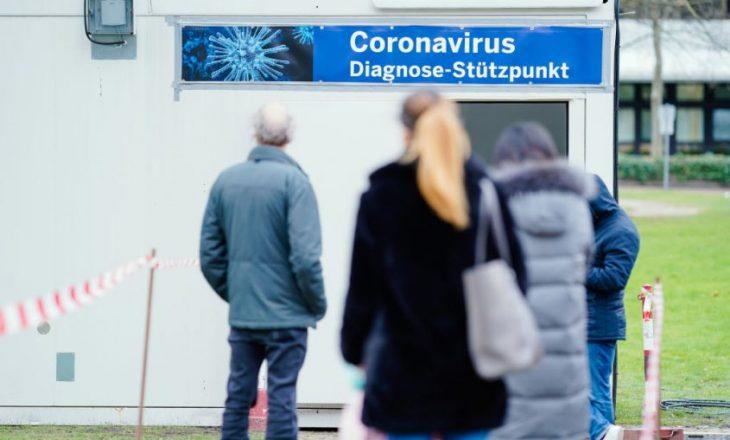 Gjermania regjistron 426 viktima nga Covid-19 në 24 orët e fundit