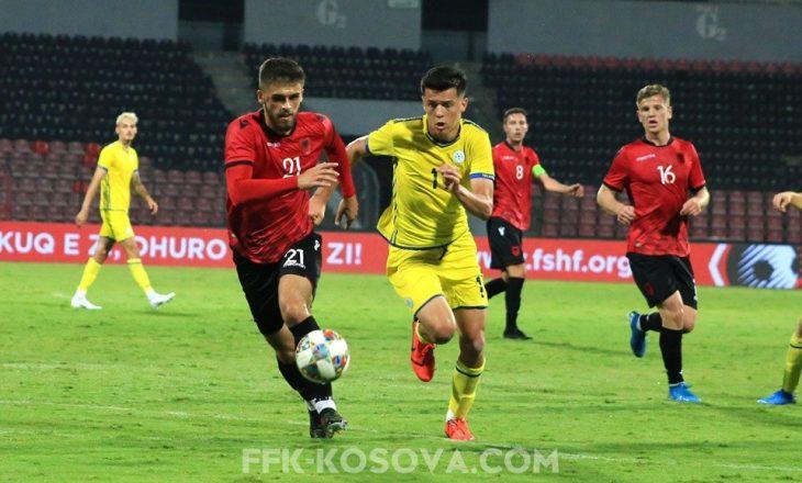 Shqipëria U-21 mposht minimalisht U-21 e Kosovës