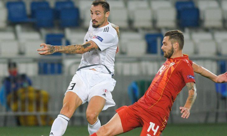 Formacionet zyrtare të finales Gjeorgji vs Maqedoni e Veriut