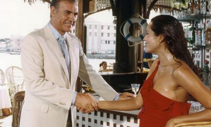 """Aktorja kujton puthjen me 'James Bond'-in e parë: """"Ishte e shenjtë"""""""