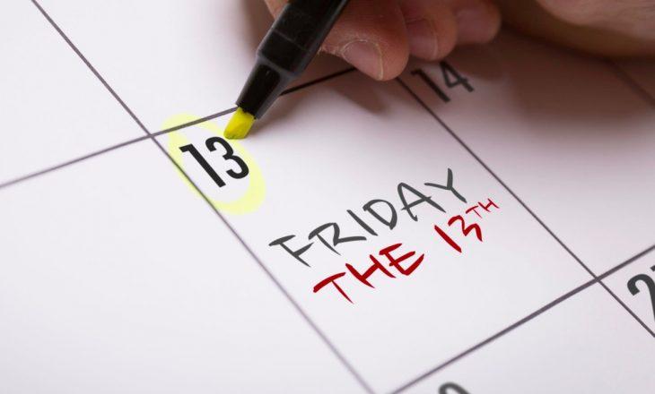 E premte, data 13: Pse kjo ditë konsiderohet si ters?
