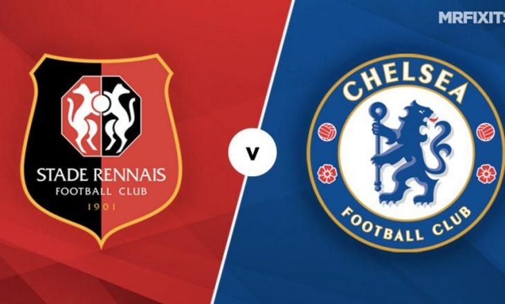 Rennes vs Chelsea, formacionet zyrtare të ndeshjes në Champions League