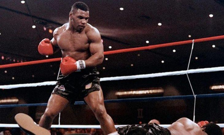 Mike Tyson rikthehet në ring