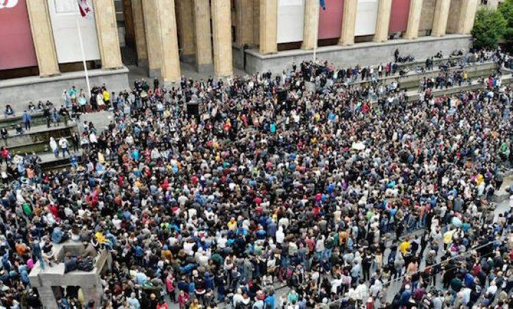Protesta në Gjeorgji