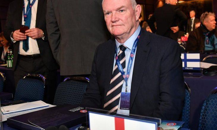 Jep dorëheqje presidenti i Federatës angleze të Futbollit
