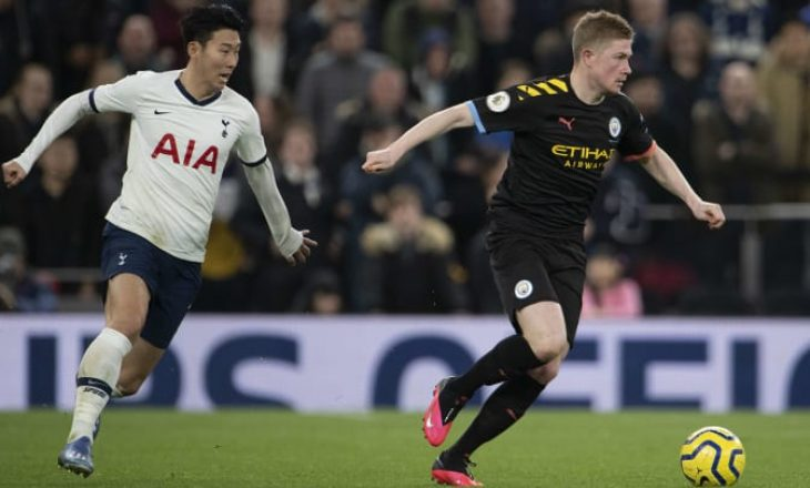 Tottenham – Man City, formacionet zyrtare të ndeshjes