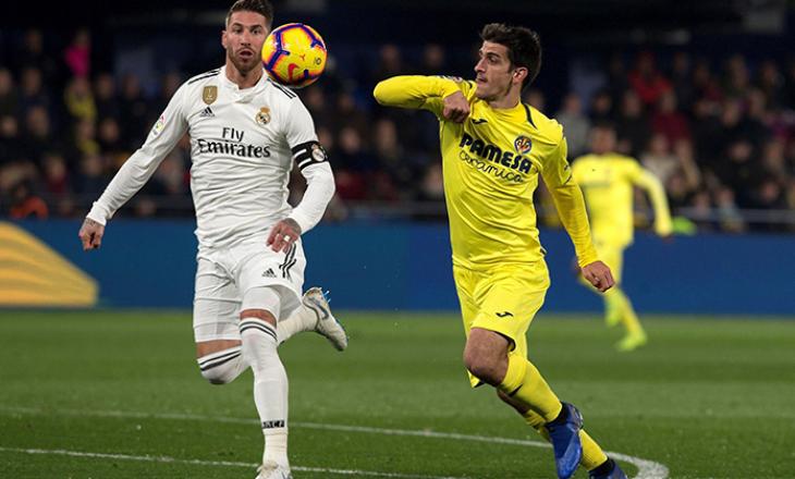 Villareal vs Real Madrid, formacionet e ndeshjes