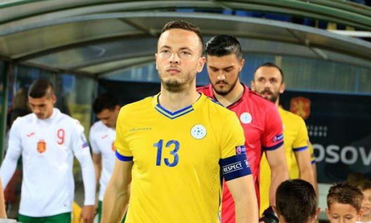 Amir Rrahmani mund të mungojë në ndeshjet e Kosovës gjatë nëntorit