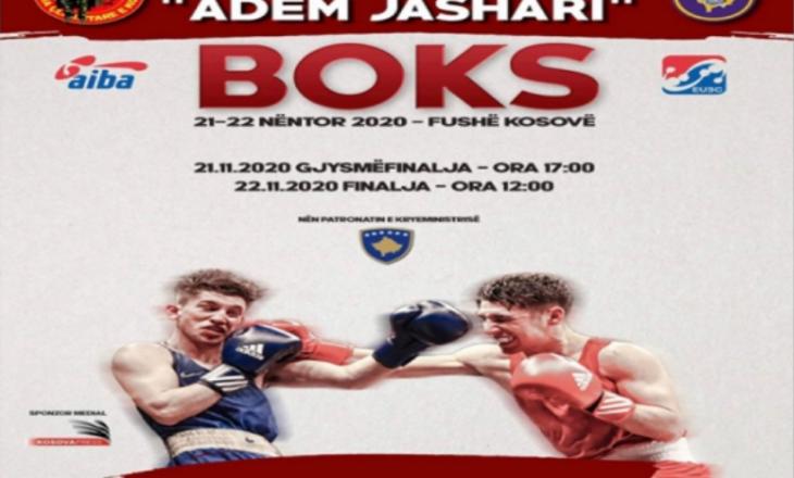 """Gjithçka gati për zhvillimin e turneut të XXII ndërkombëtar të boksit """"Adem Jashari"""""""