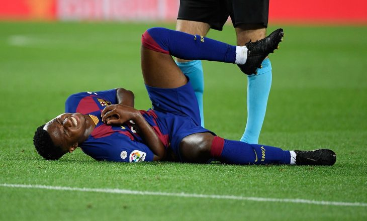 Dëmtohet Fati te Barcelona