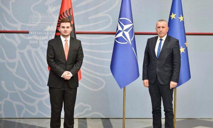 Fshirja e adresave të shqiptarëve në Luginë, Cakaj takohet me Kamberin
