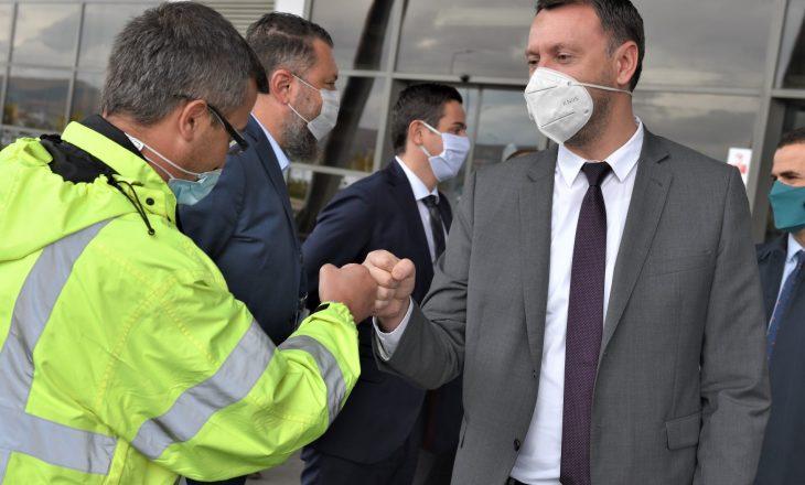 Aviacioni Civil: Abrashi na vizitoi më 5 nëntor, por ne e publikuam njoftimin me 10 nëntor