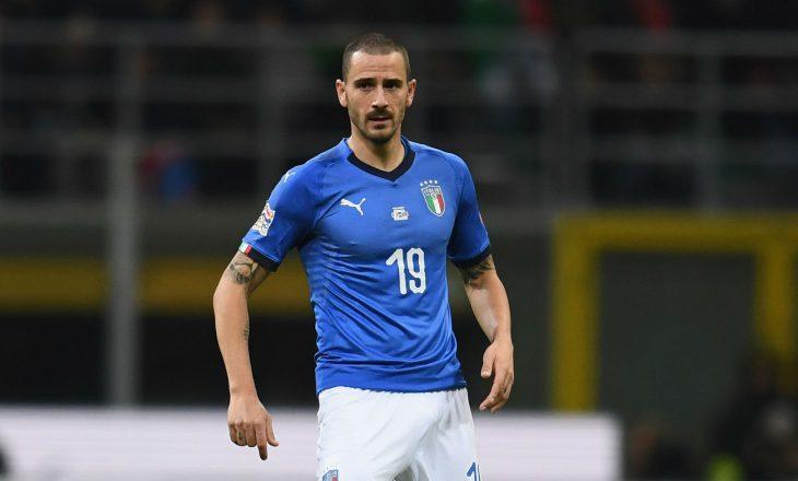 Dëmtohet Bonucci me kombëtaren italiane, Juventus në alarm