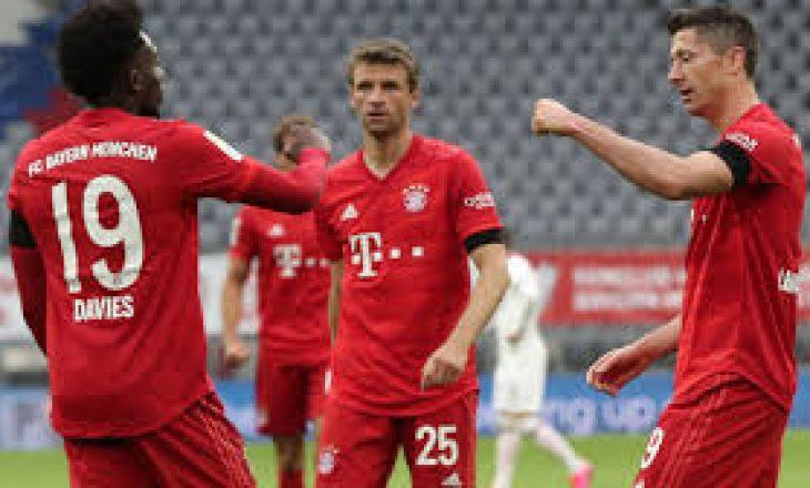Infektohet me Covid-19 një futbollist i Bayern Munchen