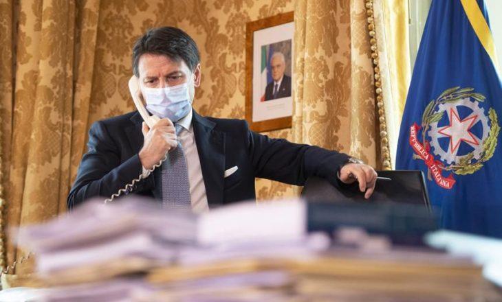 Kryeminsitri italian dhe Biden flasin në telefon