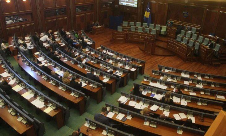 Kuvendi vazhdon seancën plenare