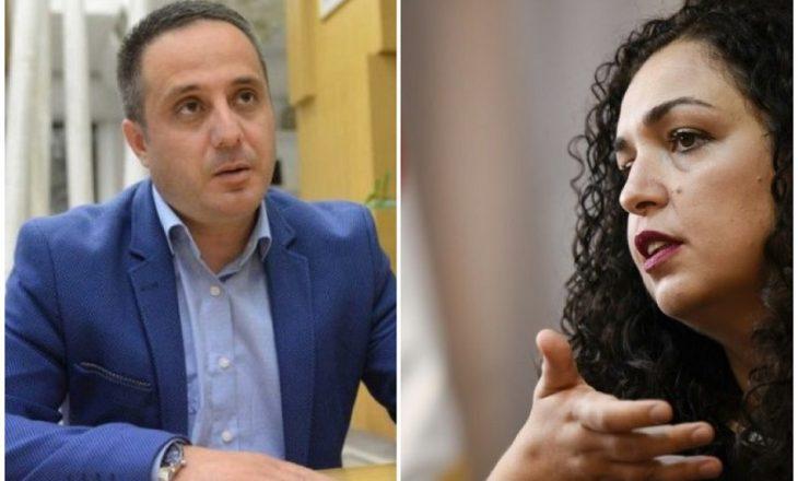 """""""Vjosa Osmani ta mbrojë Driton Selmanajn nga Vetëvendosja"""""""