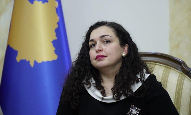 Vjosa Osmani anulon konkurset në kuadër të Zyrës së Presidentit