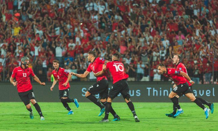 Formacionet Shqipëri vs Bjellorusi