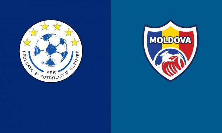 Publikohen formacionet e ndeshjes Kosovë vs Moldavi