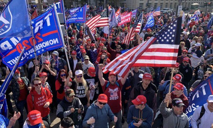 Mbështetësit e Trump-it mblidhen në Washington për të kundërshtuar fitoren e Biden-it