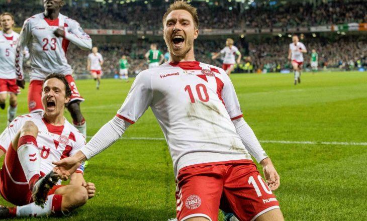 Kombëtarja daneze e futbollit preket nga Covid-19
