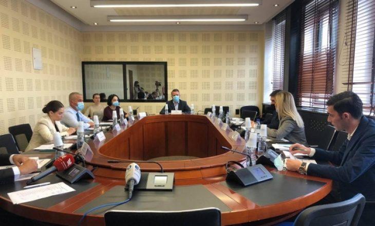 Katër komisione parlamentare mblidhen sot