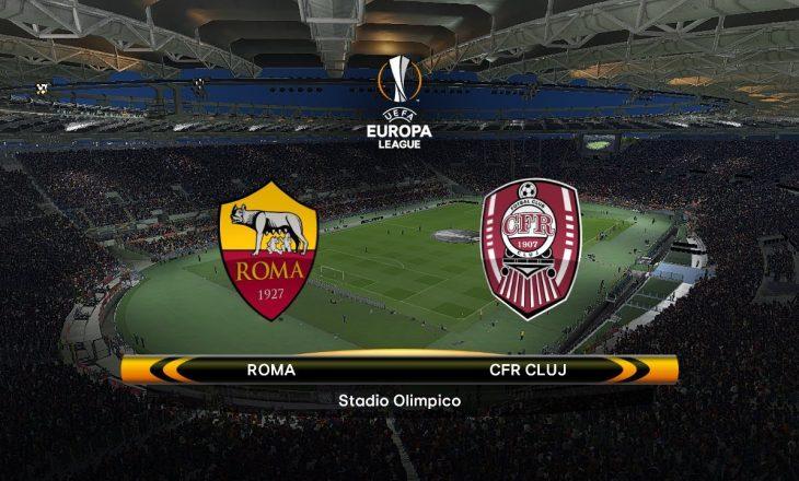 Roma vs Cluj, formacionet zyrtare, starton Kumbulla
