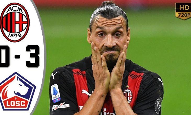 Milan kthehet me këmbë në tokë, në ndeshjen tjetër Arsenal fiton me përmbysje