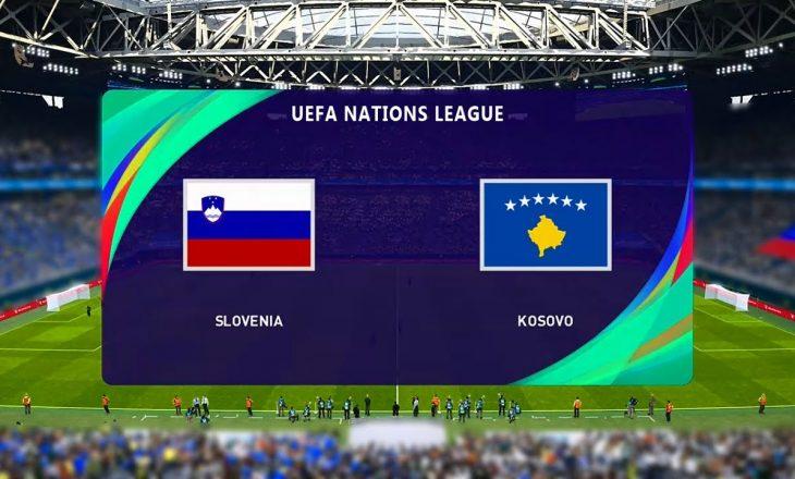 Sllovenia vs Kosova, formacionet e ndeshjes