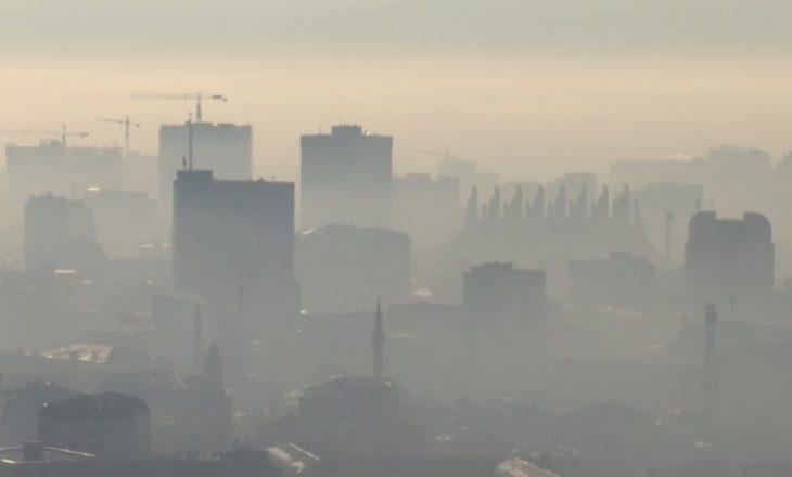 Prishtina ndër 10 vendet e para me ajrin më të ndotur në botë