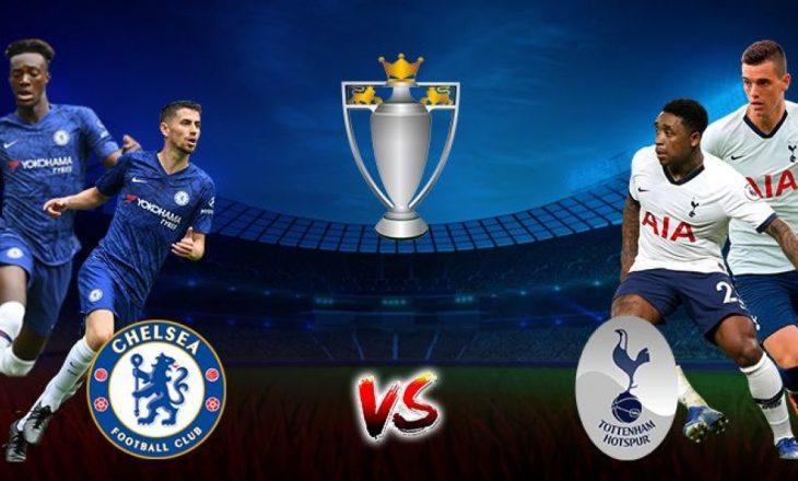 Derbi londinez Chelsea vs Tottenham, formacionet zyrtare