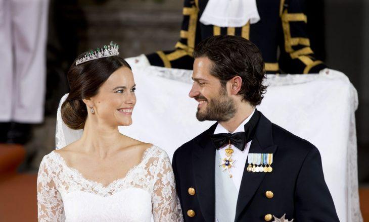 Princi i Suedisë dhe bashkëshortja rezultojnë pozitiv me Covid-19