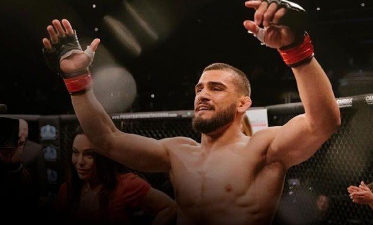 Ramiz Brahimaj do të ndeshet me Max Griffin në UFC