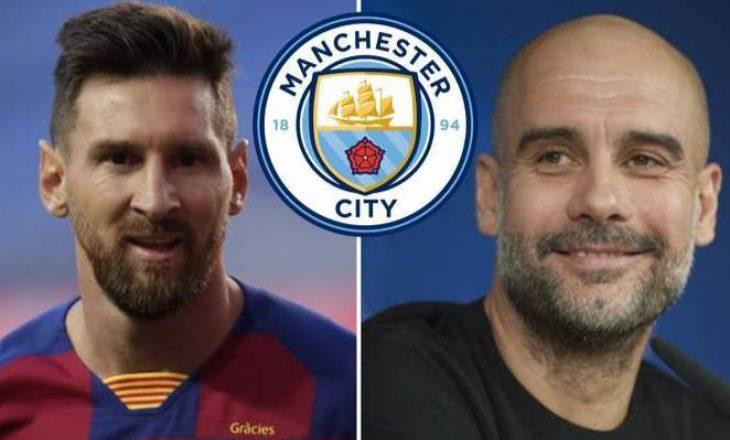 Manchester City gati të transferoj Messi-n në Janar