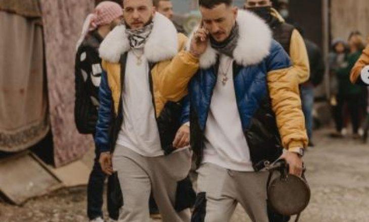 Dy vëllezërit, Mozzik e Getinjo rikthehen në një videoklip të vetëm