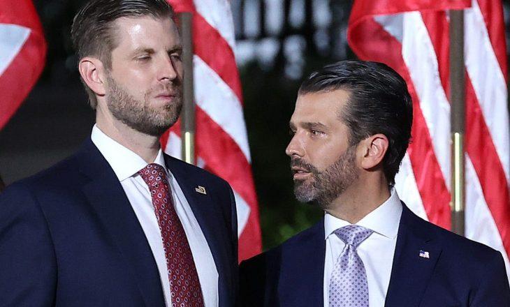 Djemtë e Trump-it vazhdojnë aludimet se ka pasur parregullsi në zgjedhje – pa dhënë kurrfarë faktesh