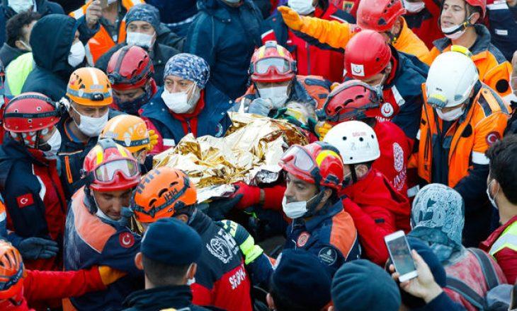 Izmir: Shpëtohet një fëmijë katër vjeçar pas 91 orëve nën rrënoja