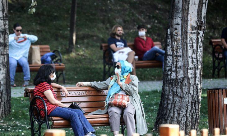 Turqi: Regjistrohen 93 viktima nga Covid-19 në 24 orët e fundit