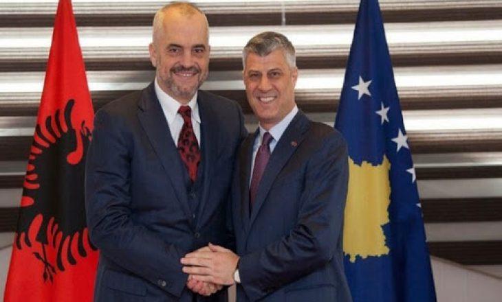 Rama: Thaçi e ka mbështetjen e gjithë Shqipërisë