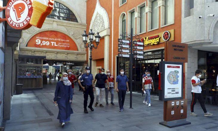 Turqi, në 24 orët e fundit regjistrohen 74 viktima të reja nga Covid-19