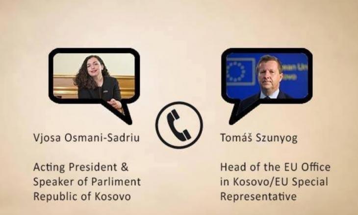 Osmani – Shefit të BE'së: Askush nuk ka mandat që ta rinegociojë kushtetutën tonë