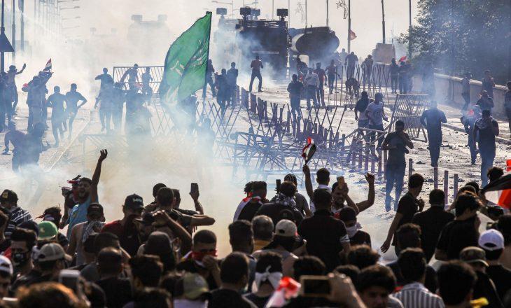 Protestat në Irak: Dy persona humbin jetën