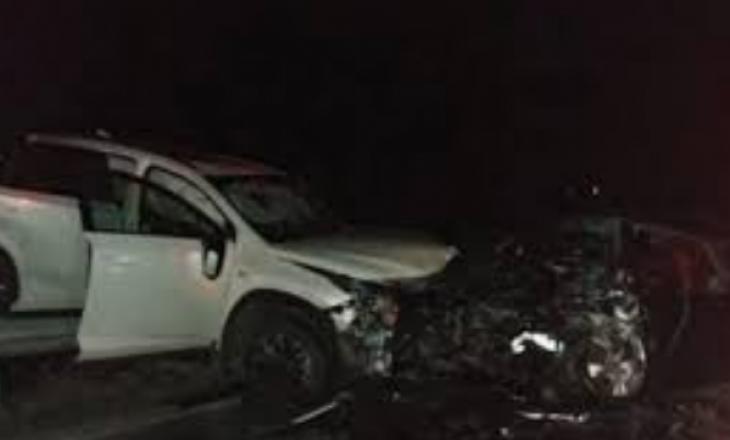 """Aksident mes shtatë veturash në autostradën """"Ibrahim Rugova"""""""