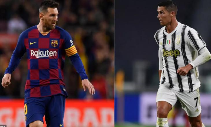 Pas nëntë viteve përballen Messi e Ronaldo në një ndeshje të Champions League