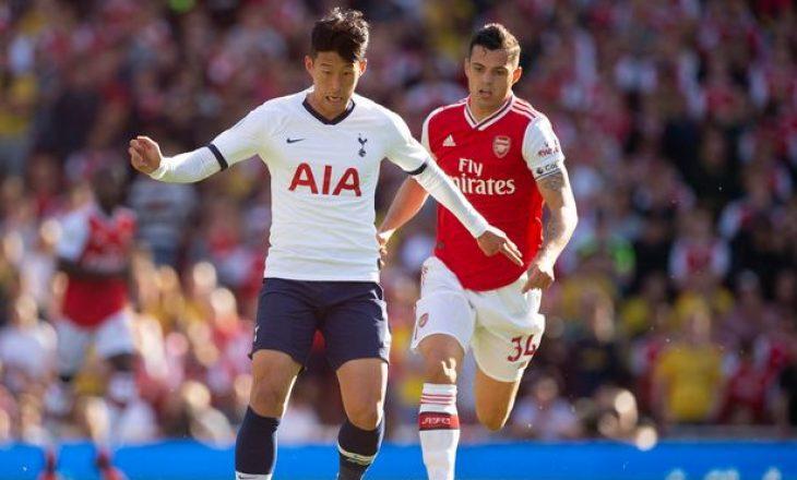 Tottenham mposht Arsenalin, fiton derbin londinez